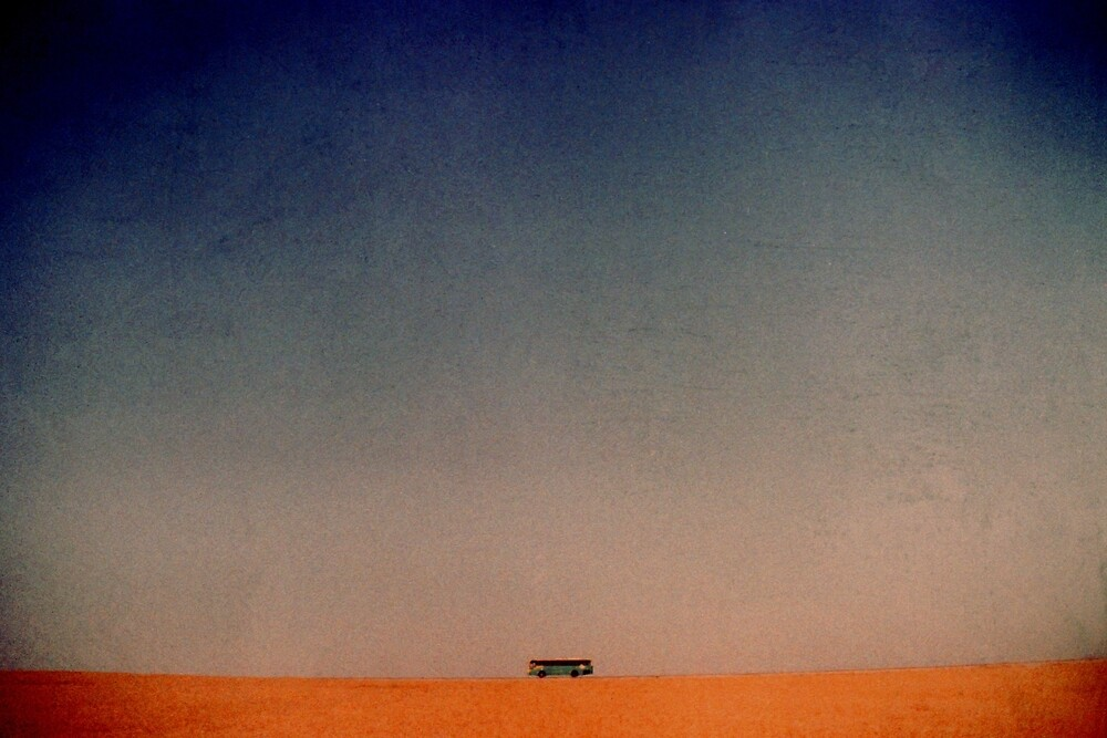 bus to nowhere by Victor Bezrukov