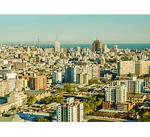 Aerial View of Montevideo Photographic Print
