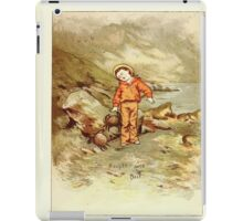 Old Proverbs with New Pictures Lizzie Laweson and Clara Mateaux 1881 0055 Bought Wit is Best iPad Case/Skin