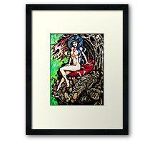 Black Widow - The Man Eater Framed Print