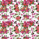 April blooms(Bougainvillea)  by SuburbanBirdDesigns By Kanika Mathur