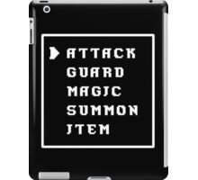 Battle Menu iPad Case/Skin