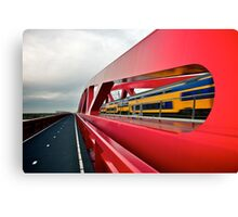 High speed train. Canvas Print