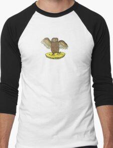 Owl in my Omlette Men's Baseball ¾ T-Shirt