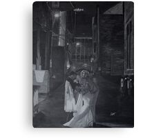Mr. and Mrs. Holm Canvas Print