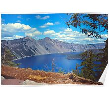 Clouds over Crater Lake 1979 Poster