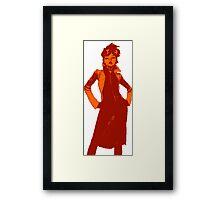 Jubilee X-Men Ink Scratch (Fiery) Framed Print