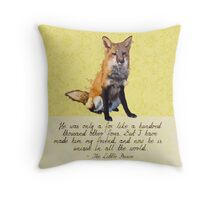 Unique in All the World Throw Pillow