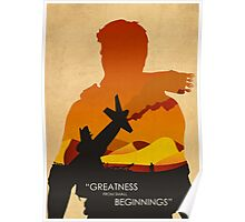 Greatness from small Beginnings Poster