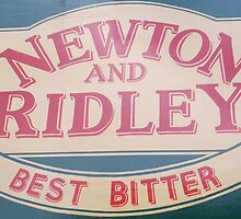 Newton and Ridley sign, Rovers return, Coronation street. by Keithydee