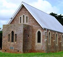 Anglican Church - Sth. Purrumbete by EdsMum