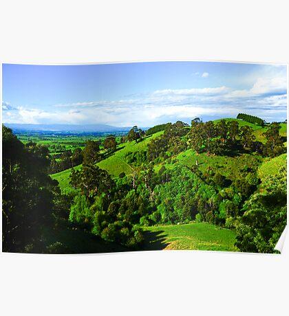 Hills Poster