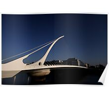Samuel Beckett Bridge Poster