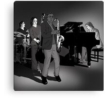 Johnny's band Canvas Print