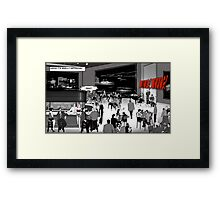 Red Lightning Club. Framed Print