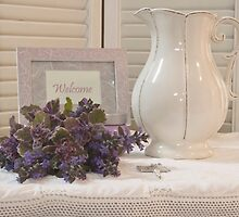 Welcome To The Cottage  by Sandra Foster