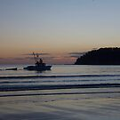 seascapes #259, trawling at dawn by stickelsimages