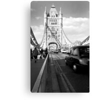 Taxi Journey Canvas Print