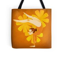 Gymnast Orange Tote Bag