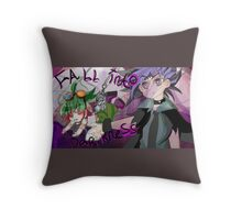 FALL INTO DARKNESS Throw Pillow