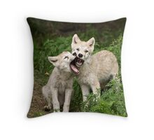 Don't Interupt Me! Throw Pillow