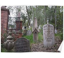 Disney's Haunted Mansion tombstones Poster