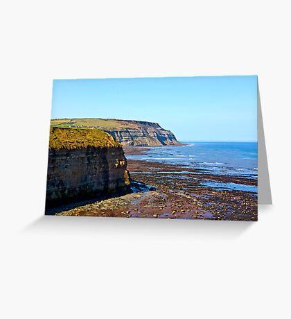North Yorks Coast  Greeting Card