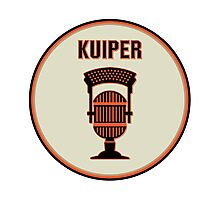 SF Giants Announcer Duane Kuiper Pin Photographic Print