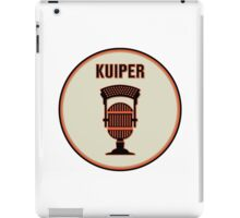 SF Giants Announcer Duane Kuiper Pin iPad Case/Skin