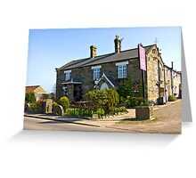 The Water Wheel Inn - Liverton Greeting Card