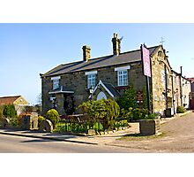 The Water Wheel Inn - Liverton Photographic Print