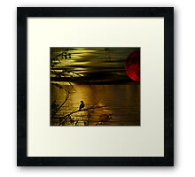 Wake still and think of me Framed Print