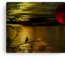 Wake still and think of me Canvas Print