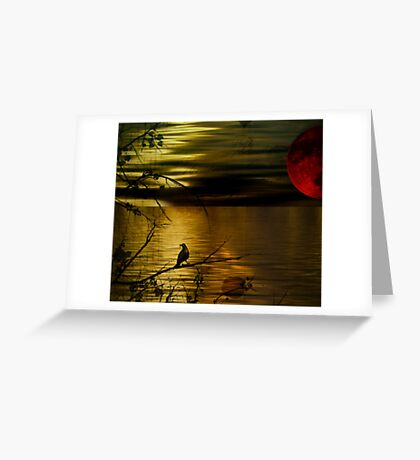 Wake still and think of me Greeting Card