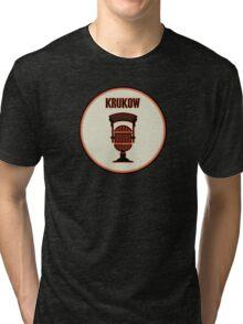 SF Giants Announcer Mike Krukow Pin Tri-blend T-Shirt