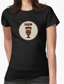 SF Giants Announcer Mike Krukow Pin Womens Fitted T-Shirt