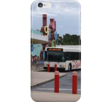 Buses at Disney's Pop Century Resort iPhone Case/Skin