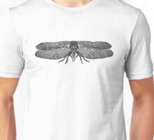 Dragonfly linocut Unisex T-Shirt