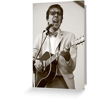 Justin Townes Earle Greeting Card