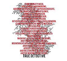 True Detective Song Photographic Print
