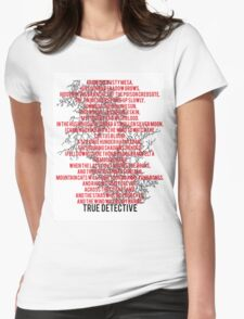 True Detective Song Womens Fitted T-Shirt