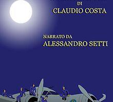 """MOVIE POSTER 3 """"il nemico sulle ali"""" by CLAUDIO COSTA"""
