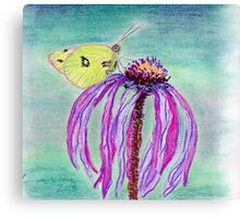 A Spring Visitor Canvas Print