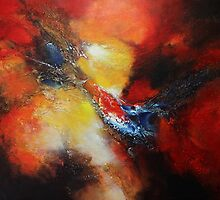 Fury Abstract  by Patricia Lintner