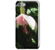 Pink Fuchsia with Droplets iPhone Case/Skin