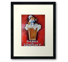 Good beer Framed Print
