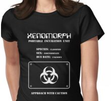 Xenomorph Portable Incubation Unit Womens Fitted T-Shirt