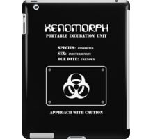 Xenomorph Portable Incubation Unit iPad Case/Skin