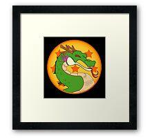 Dragon Kombat! Framed Print