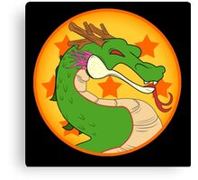 Dragon Kombat! Canvas Print